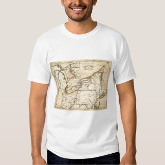 A New Map Of The Seat Of War T Shirt