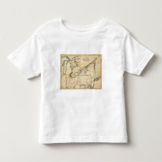 A New Map Of The Seat Of War Tee Shirt