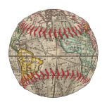 A new map of the whole world with trade winds baseball