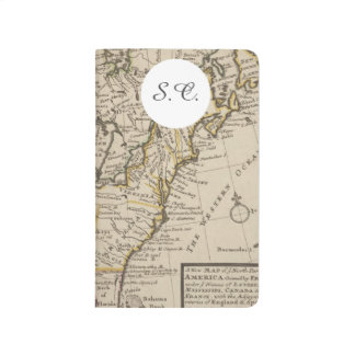 A new map of ye north parts of America Journal