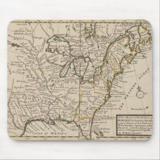 A new map of ye north parts of America Mouse Pad
