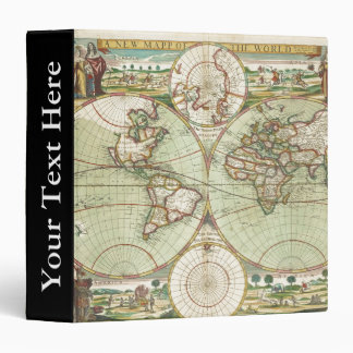 A new mapp of the world - Atlas 3 Ring Binder