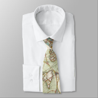 A new mapp of the world - Atlas Tie