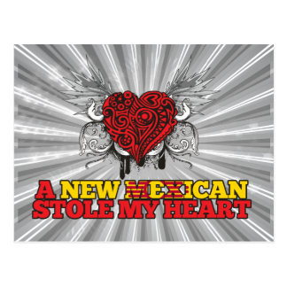 A New Mexican Stole my Heart Postcard