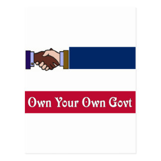 A New Mississippi: Own Your Own Govt Postcard