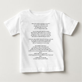 a new place and time baby T-Shirt