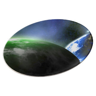 A New Planet In Our Solar System Porcelain Plate