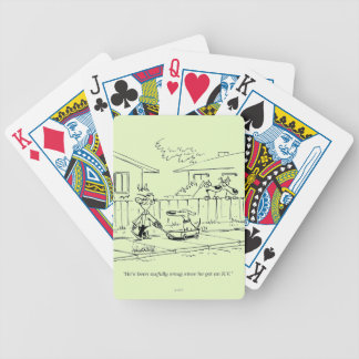 A New Ride Bicycle Playing Cards