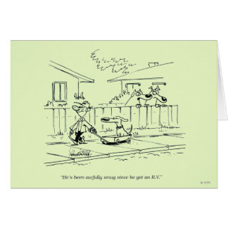 A New Ride Greeting Card