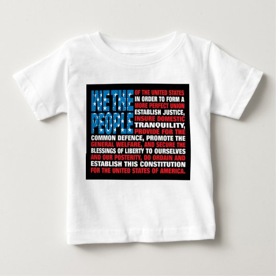 A New Twist on Old Glory Baby T-Shirt