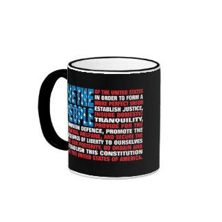 A New Twist on Old Glory Ringer Coffee Mug