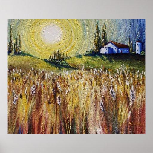 'A New Vision' Landscape Art Poster