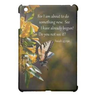 """A New Work Begun"" Butterfly Image iPad Mini Cases"