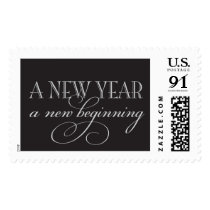 A new year, a new beginning postage