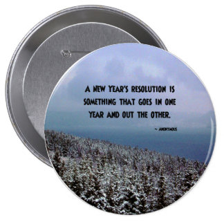 A New Year s Resolution Button