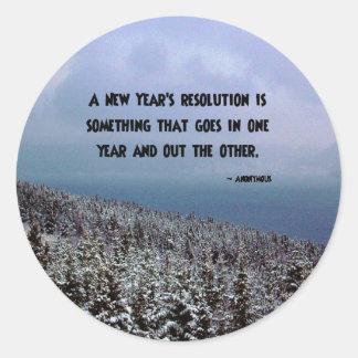 A New Year's Revolution... Sticker