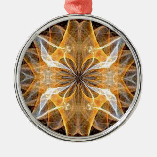 A New Year's Star 2014 Round Metal Christmas Ornament