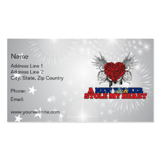 A New Yorker Stole my Heart Double-Sided Standard Business Cards (Pack Of 100)