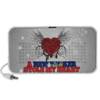 A New Yorker Stole my Heart Mp3 Speakers