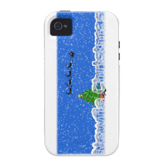 A Newfie Christmas Case-Mate iPhone 4 Cases