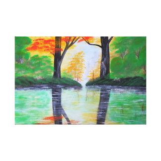 A nice day canvas print