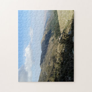 A nice day for travelling & mountain hiking jigsaw puzzle