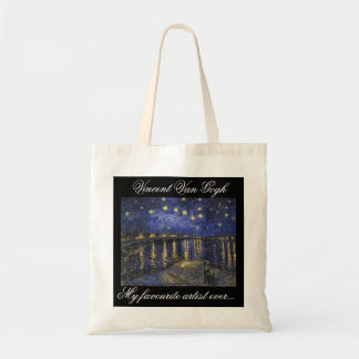 A nice My Favourite Artist Ever tote bag.