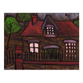 A nice old house postcard