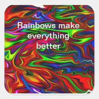 a nice rainbow sticker