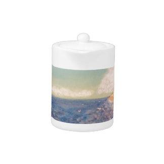 A  Nice Sandy Beach Teapot