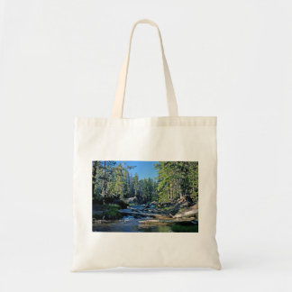 A Nice View Of The Paulina River Budget Tote Bag