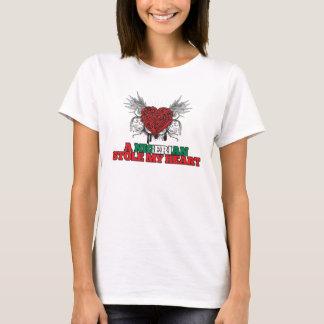 A Nigerian Stole my Heart T-Shirt