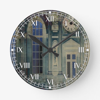 A Night at the Palace Round Clock
