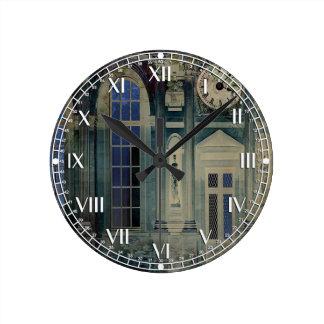 A Night at the Palace Round Clocks