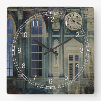 A Night at the Palace Square Wall Clocks