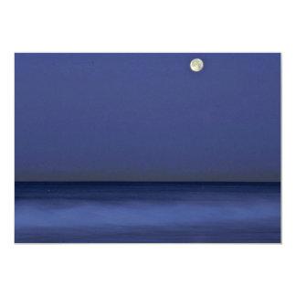 A Night At The Sea 5x7 Paper Invitation Card