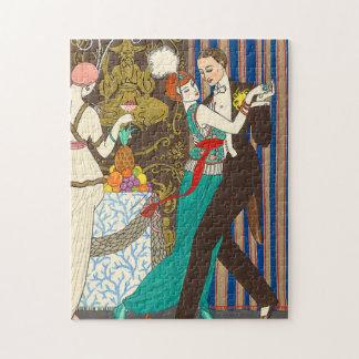A Night in Decadent Paris Art Deco Puzzle