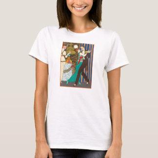 A Night in Decadent Paris Art Deco T-shirt