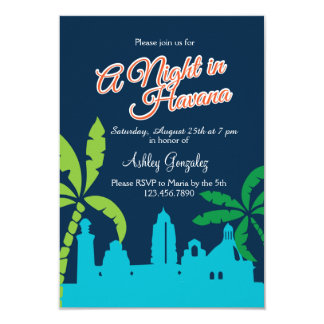 A Night In Havana Card