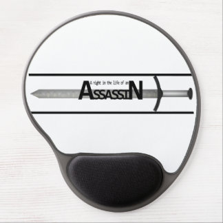 A Night in the Life of an Assassin Gel Mousepad