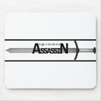 A Night in the Life of an Assassin Mousepad