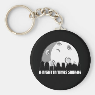 A Night in Times Square Keychain