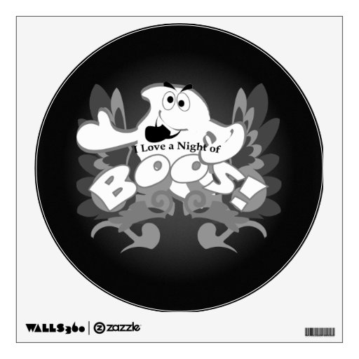 A Night of Boos Ghost Wall Decal
