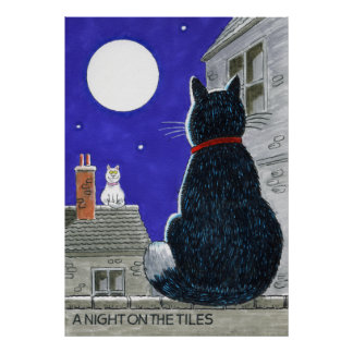 """""""A Night On The Tiles"""" Poster"""