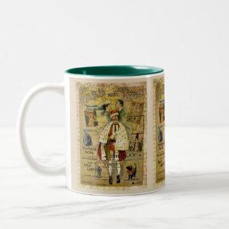 A Night on the Town Two-Tone Coffee Mug