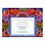 "A Night Out 7"" x 5"" Event Invitation"