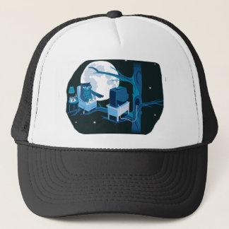 A Night Owl Trucker Hat