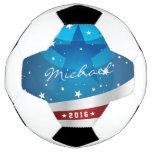 A Night Sky in America - American Flag Soccer Ball