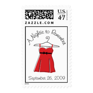 A Nightie to Remember Stamp