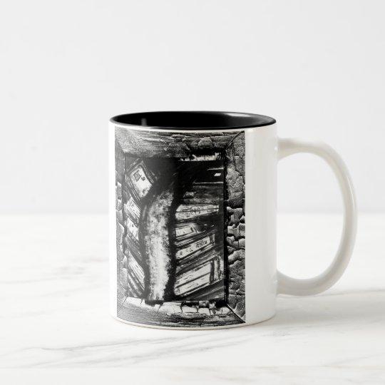 A Nightmare Path Two-Tone Coffee Mug